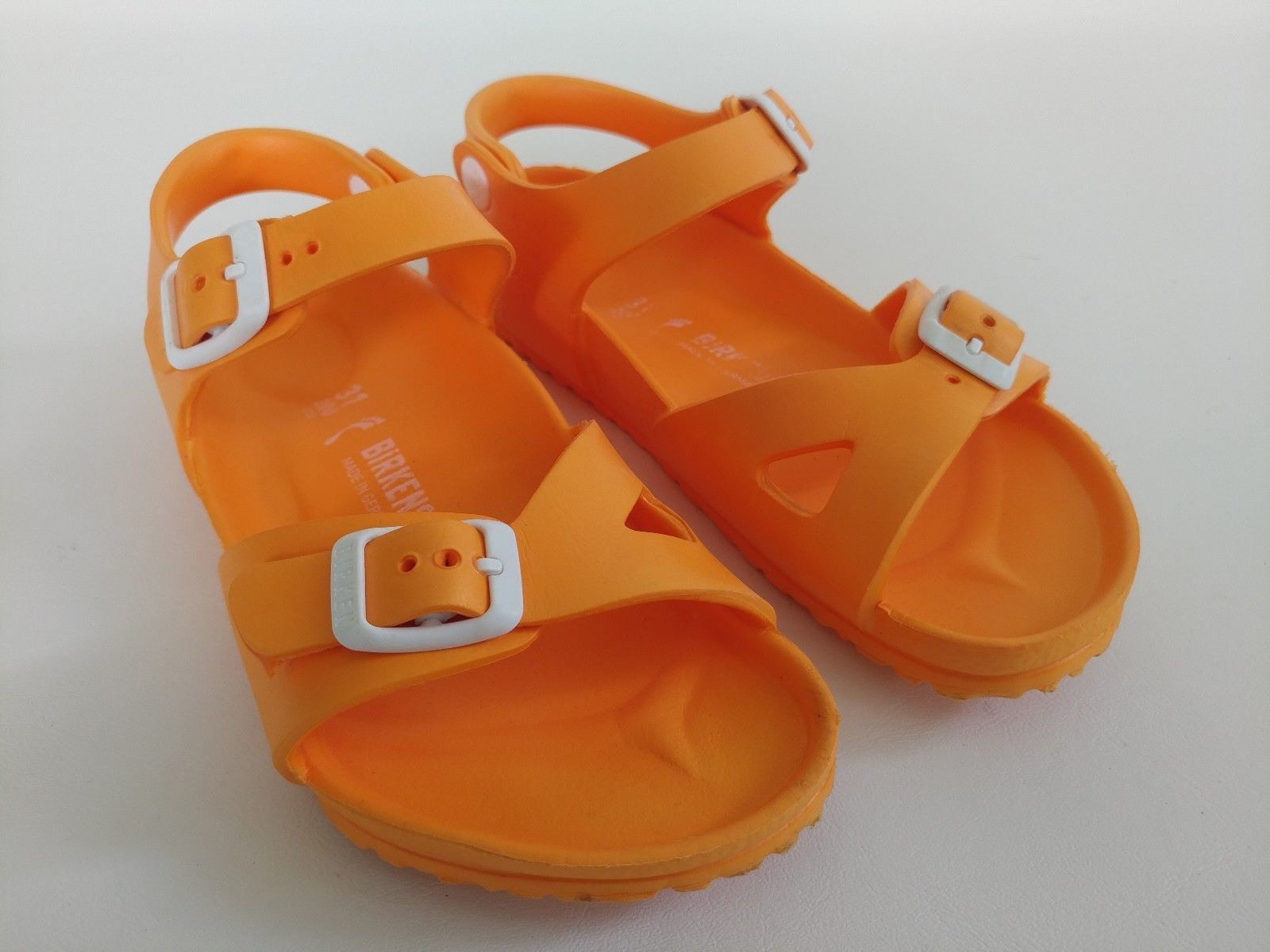 d80a46d20ca Birkenstock Kids Size C13   31 Narrow Orange and 50 similar items