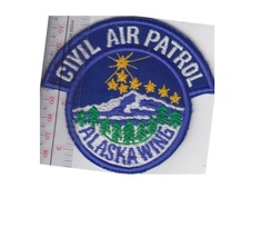 US Civil Air Patrol CAP Alaska Wing US Air Force Auxiliary USAF AUX  3.5... - $9.99
