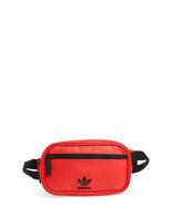 New adidas Original PU Leather Waist Pack Red Black CL5446 - $45.00
