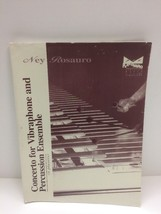 Ney Rosauro Concerto for Vibraphone and Percussion Ensemble 6 Players - $44.50