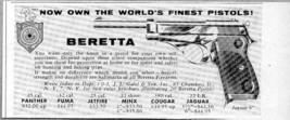 1960 Print Ad Beretta Worlds Finest Pistols New York,NY - $8.85