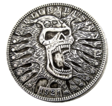 HB(36)US Hobo 1921 Morgan Dollar Silver Plated Copy Coins - $7.99