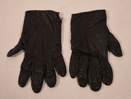 Coach Womens Black Leather Glove Mitten 7 Italy - $19.80