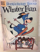 HUCKLEBERRY HOUND WINTER FUN (1959) Dell Four Color Comics #1054 VG/VG+ - $19.79