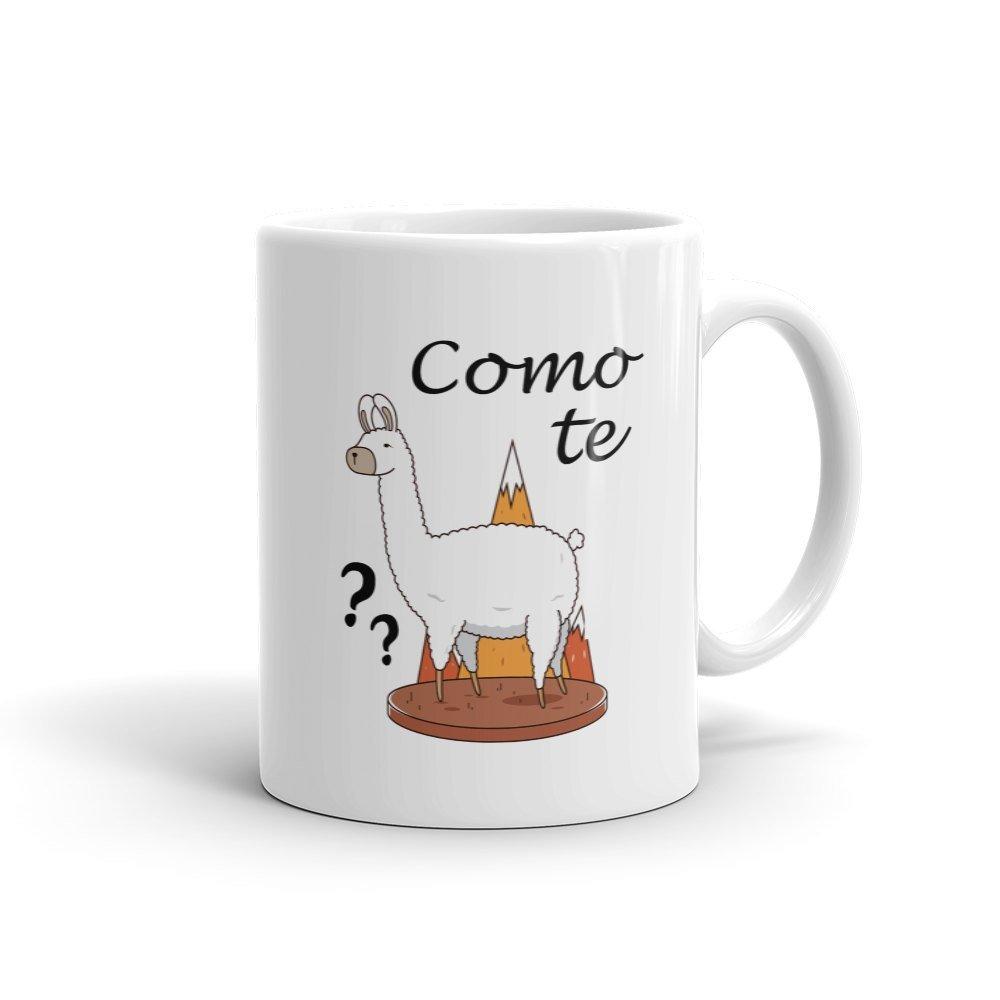 New Mug - Como Te Llama Mug Funny Llama Gift Cute Lama Mug Cómo te - $10.99 - $12.99