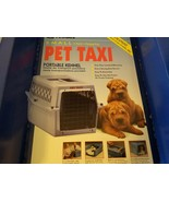 Petmate Pet Taxi Portable Kennel For Small Dogs And Cats NEW Airline App... - $84.95