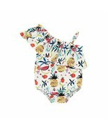 1-5Years Toddler Kids Baby Girls Fruit Print Swimwear Summer Beach Cloth... - $193,83 MXN