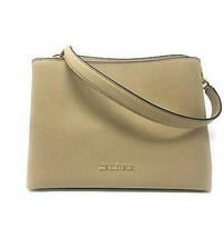 Michael Kors Sofia Large East West Satchel Leather in Bisque - $143.55
