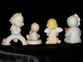 Precious Figurines Moments 4 Pieces AA-191706 Vintage Collectible image 4