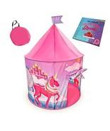 Leviani Foldable Kids Play Tent - Fantasy Pretend Unicorn Castle for Princesses, - £21.90 GBP