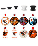 Pop up Phone Holder Expanding Stand Finger Grip Mount Baltimore Orioles - $11.99