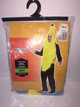 Banana Costume Adult Mens Womens Comical Humorous Funny Food Cosplay - Fast - - $27.95