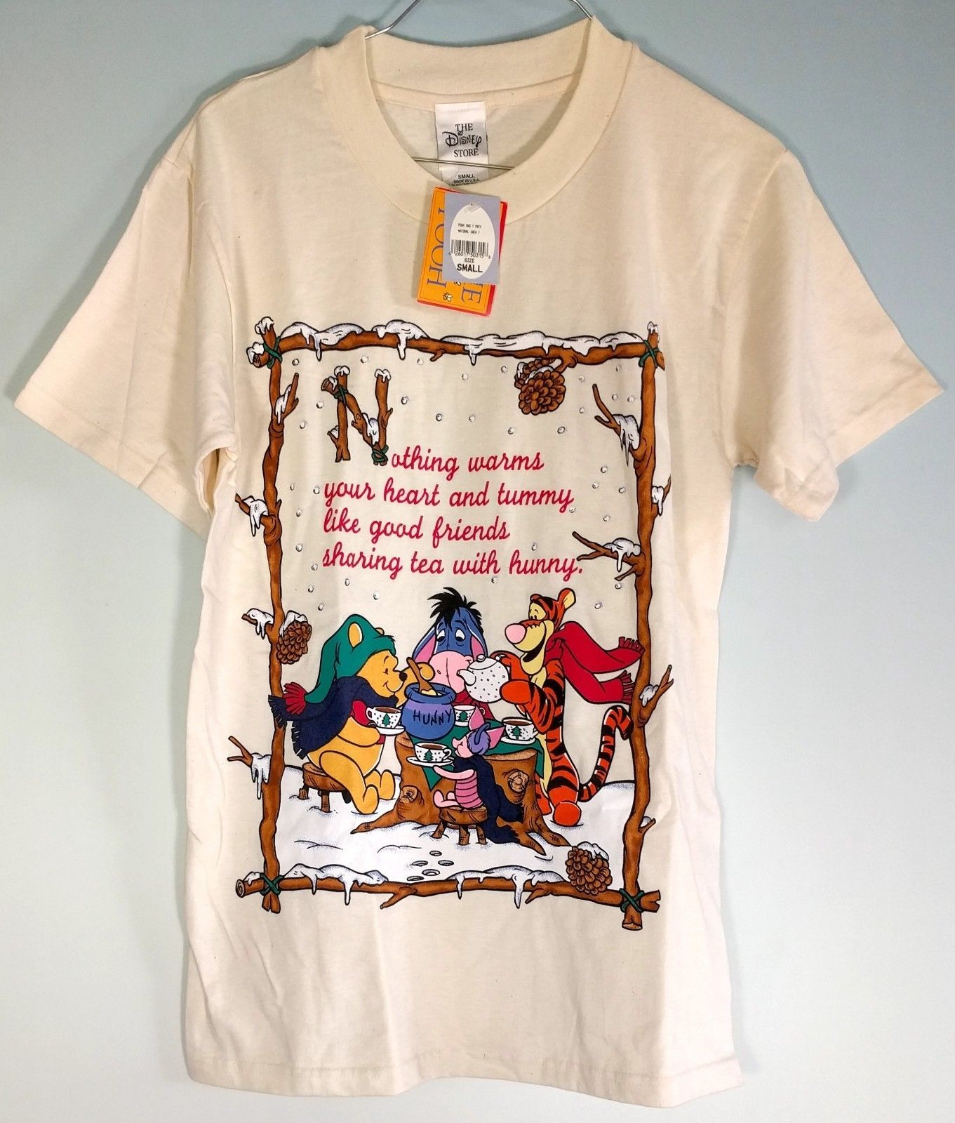 w// Shorts new NWT DISNEY girls 2 Winnie the Pooh 100/% Cotton s//s Shirt Tees