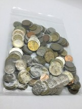 Mixed World Foreign Coin Assorted Grab Bag Lot 1.1 LBS image 1