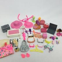 Barbie Accessories Lot 9 Purses 7 Pairs Sunglasses 2 Hat Plus More - $29.99