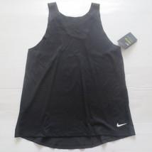 Nike Women Breathe Tank Top Shirt - 862774 - Black 010 - Size L - NWT - $21.99