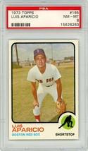 1973 Topps Luis Aparicio #165 PSA 8 P691 - $16.40