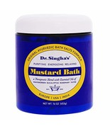 Dr. Singha's Mustard Bath, Therapeutic Bath Salts, 16 Ounce - Relaxing B... - $21.50