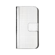 Reiko Wireless Cell Phone Case for Samsung Galaxy S6 Edge - Silver - $12.32