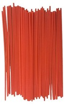 JQuad 50 Pack Aerosol Spray Can Red Plastic Straws - Tip Extension Tubes for Aut