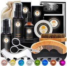 Upgraded Beard Grooming Kit w/Beard Conditioner,Beard Oil,Beard Balm,Beard Brush image 4