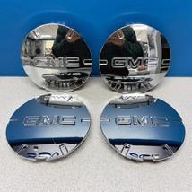 "2010-2015 GMC Terrain # 5510 Center Caps 19"" 6 Spoke Chrome Wheel 9597571 SET/4 - $150.00"