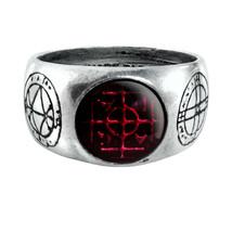 Alchemy of England Gothic Agla Kabbalistic Sigillum Talisman Magical Rin... - $27.99