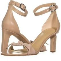 Marc Fisher Dalli Ankle Strap Heeled Sandals 378, Light Natural, 8.5 US - $23.99