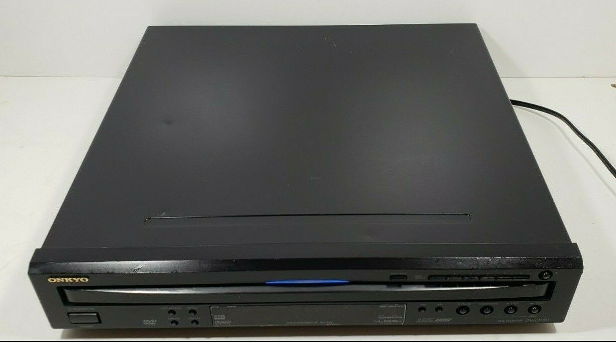 Onkyo 6 Disc Carousel DVD/ CD Changer DV-CP701 with Remote Tested image 5