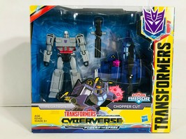 Transformers Cyberverse Spark Armor Megatron Chopper Cut Action Figure S... - $32.97