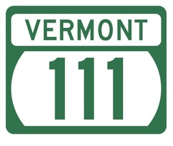 Vermont State Highway 111 Sticker Decal R5317 Highway Route Sign - $1.45+