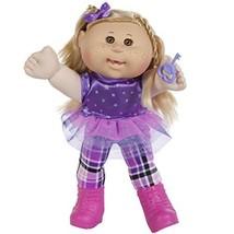 "Cabbage Patch Kids 14"" Kids - Blonde Hair/Brown Eye Girl Doll in Rocker ... - $42.88"