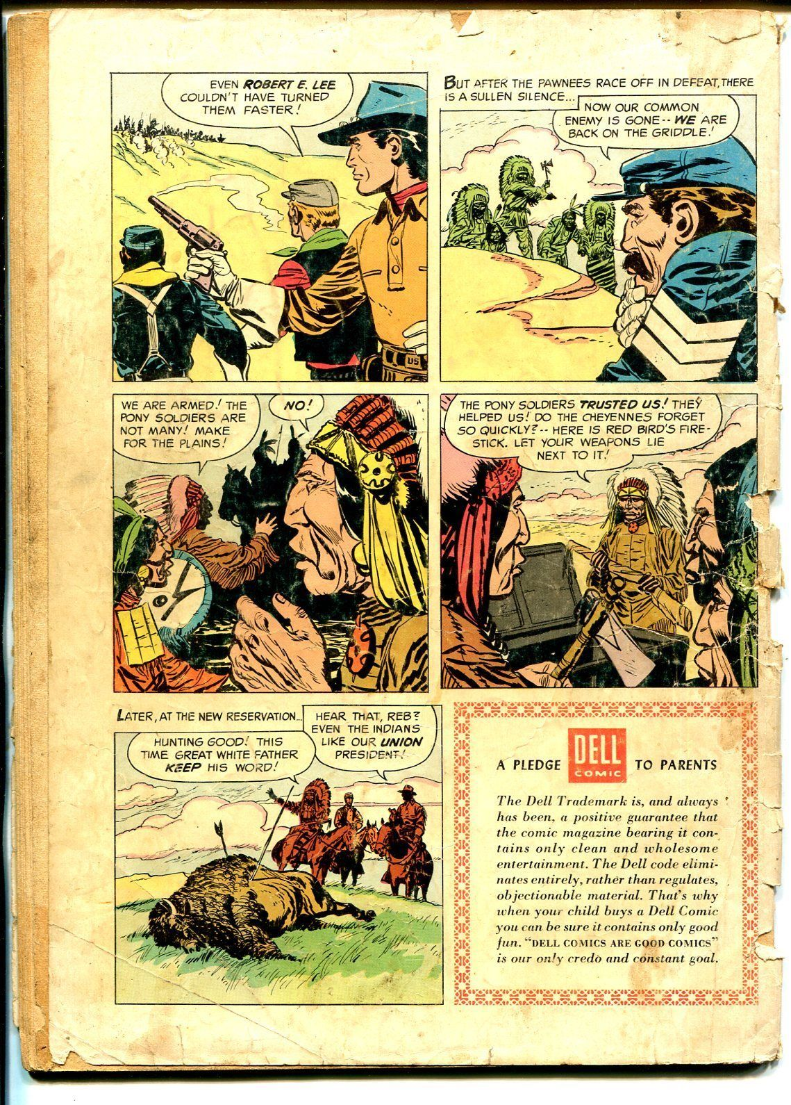 Lee Hunter Indian Fighter-Four Color Comics #779 1957-Dell-western action-P/FR