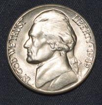 "1949-D BU Jefferson Nickel   ""Free Shipping"" - $10.99"