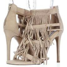Steve Madden Fringly Dress Sandals, Blush Multi, 6 US Display - $52.79