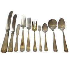 Etruscan by Gorham Sterling Silver Flatware Service For 12 Set 130 Pieces Dinner - $7,195.50