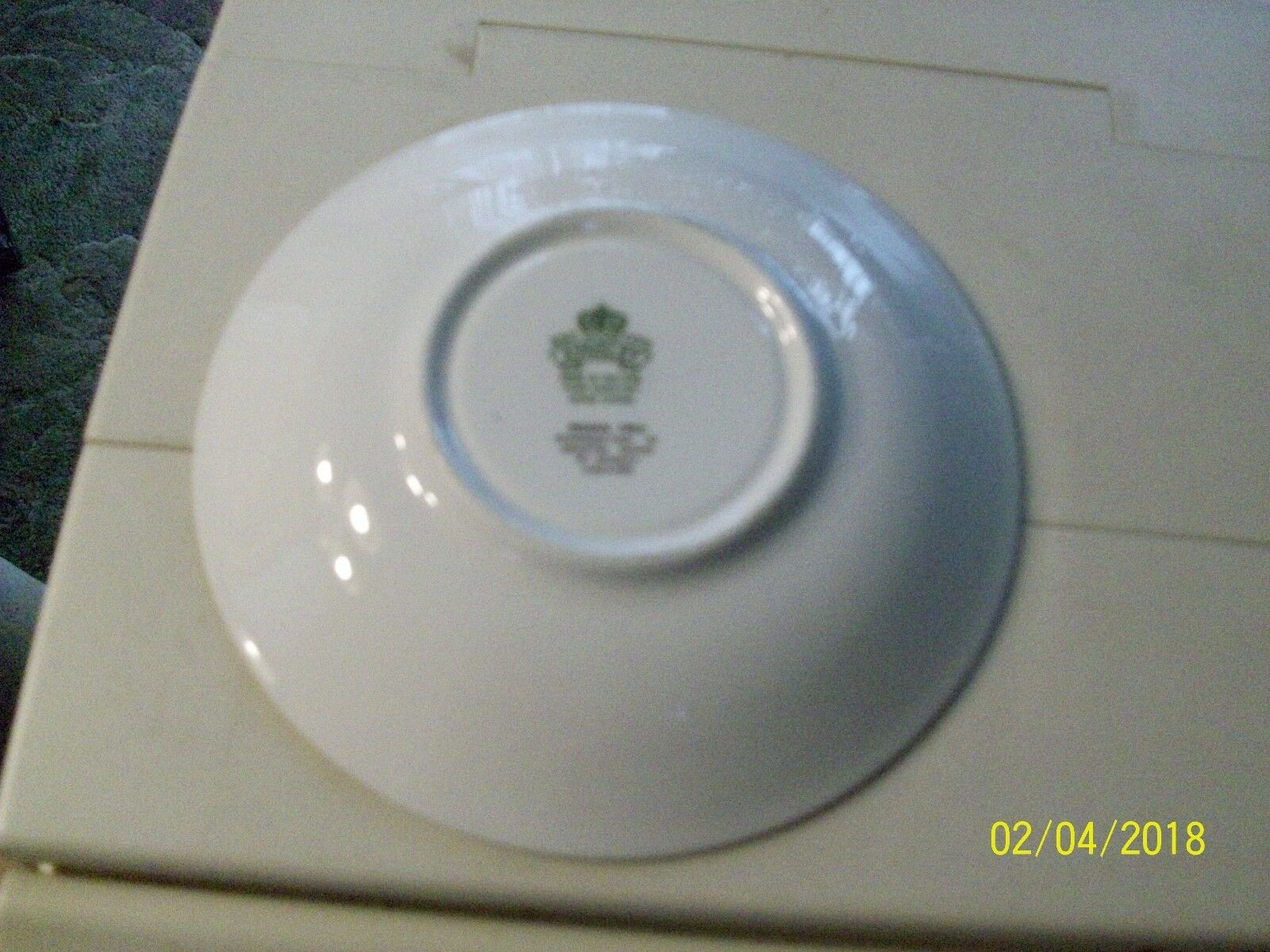 "10#    Aynsley Idn Tree 5 1/2""  Saucer Bone China England Vintage image 2"