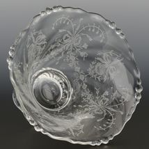 Heisey Orchid Crystal Moyonaise Bowl image 3