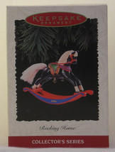 "Hallmark ""ROCKING HORSE"" COLLECTOR'S SERIES DATED 1996 - Final in the Se... - $14.50"