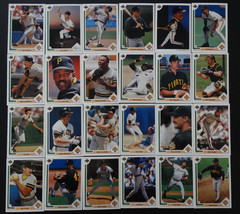 1991 Upper Deck UD Pittsburgh Pirates Team Set of 24 Baseball Cards Missing #36 - $3.00