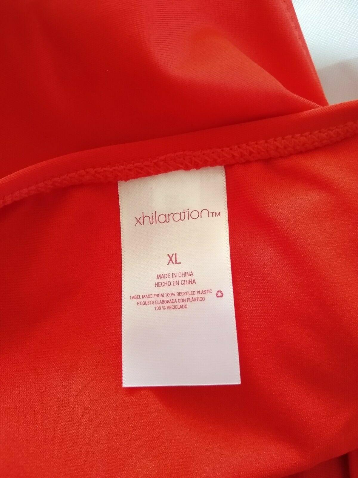 Xhilaration Women's Hipster Red Bikini Bottom Size XL image 9