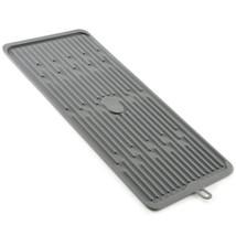 "Norpro 18.5"" x 8"" Silicone Dish Drying Drain Mat - Grey - €14,78 EUR"