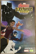 SDCC 2018 Promo Marvel Comics / Disney XD Poster ~ Avengers Black Panthe... - $14.84