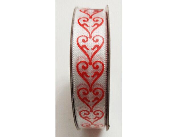 "Greenbriar International Hearts Satin Ribbon, 5/8"" x 9 FT"