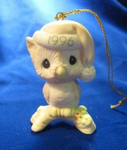 Owl Be Home For Christmas Dated 1996 Precious Moments Ornament #128708 - $16.82