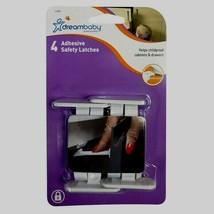 4 Dreambaby L1414 Cabinet & Drawer Safety Locks Latches Catches Child Ba... - $5.68