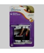 4 Dreambaby L1414 Cabinet & Drawer Safety Locks Latches Catches Child Ba... - $5.68