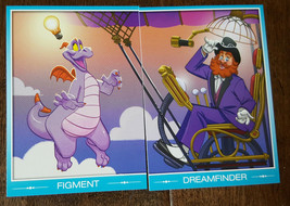 2015 D23 Expo Exclusivité Disney Trading Carte Quest Figment Dreamfinder Set 2 - $14.84
