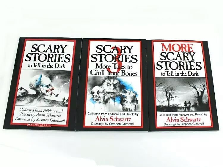 3 Book Set SCARY STORIES to Tell in the Dark Childrens GIFT Scholastic More Kids - $23.54
