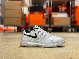 Nike Air Zoom Vapor X HC Womens Tennis Shoes White Black AJ3757-100 NWOB... - $64.99